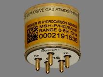 MSH-P/HC/5/V/P/F Dynament высокоточный оптический датчик метана вид 2