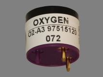 Датчик кислорода O2A3 Alphasense электрохимический, вид снизу